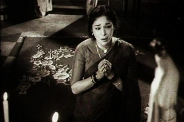 Ragini in Bharya (1962)