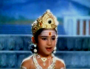 Sridevi as Lord Murugan