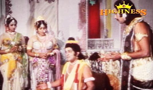 Narada is back with more bad news in Satyavan Savithri (1977)