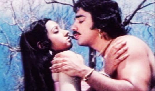 The love-lorn couple in Satyavan Savithri (1977)