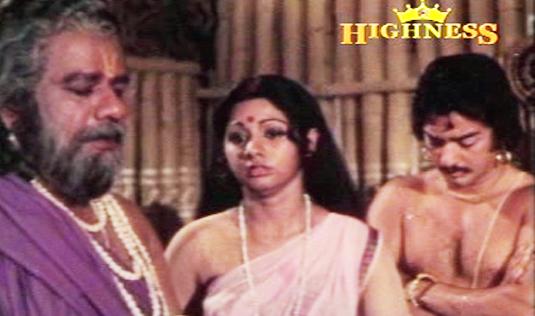 The heart-broken in-laws in Satyavan Savithri (1977)