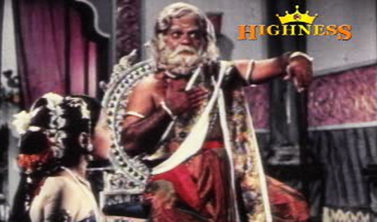 Shankaradi and Baby Sumathy in Satyavan Savithri (1977)