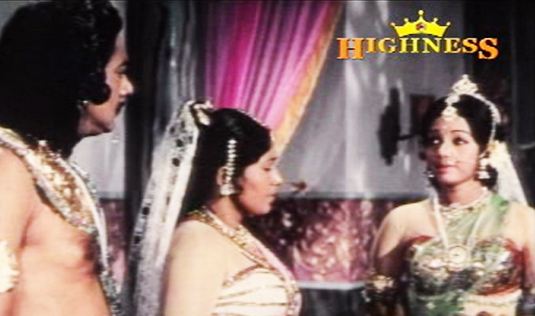Savithri's decision shocks the King and Queen - Satyavan Savithri (1977)