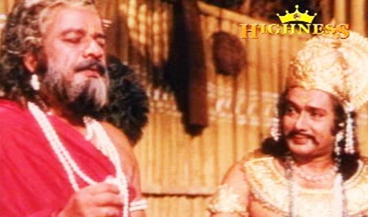 Thikkurissy Sukumaran Nair in Satyavan Savithri (1977)