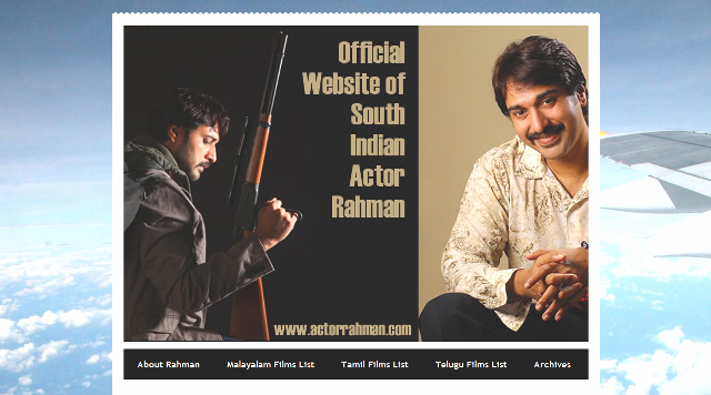 Actor Rahman's  Official Website