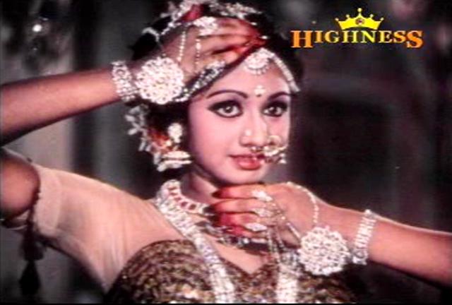 Sridevi in Satyavan Savithri (1977)