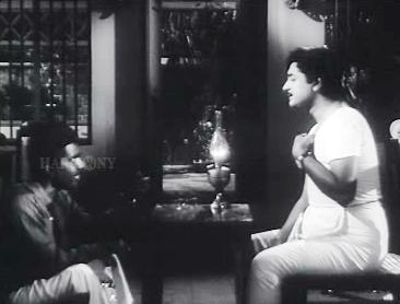 Bhargavinilayam (1964) - Nanukkuttan pays a visit