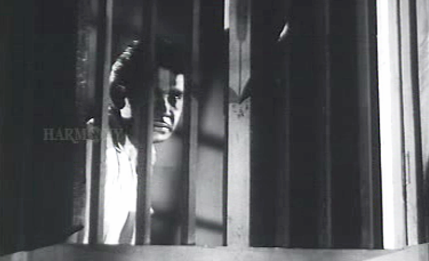 Bhargavinilayam(1964) - A knife and a firebomb comes visiting in the night