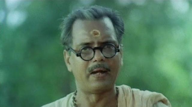 Oduvil Unnikrishnan in Vidyarambham (1990)