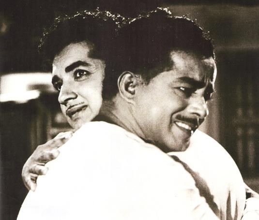 Prem Nazir and Sathyan