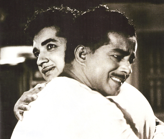 Prem Nazir and Sathyan