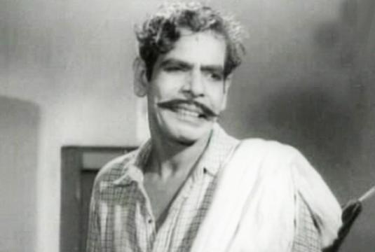 Muthukulam Raghavan Pillai in Ponkathir (1953)