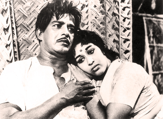 Sathyan and Sheela in Chemmeen