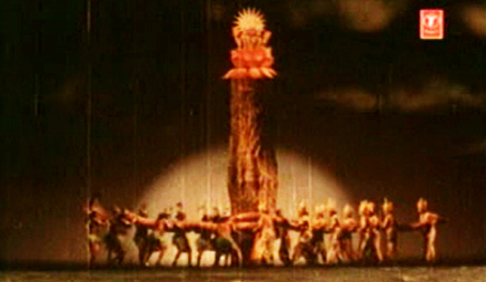 Mahabali(1983) The churning of Paalaazhi