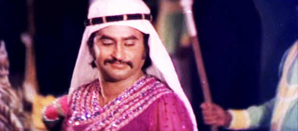Allauddinum Albhutha Vilakkum- Rajinikanth as Kamruddin