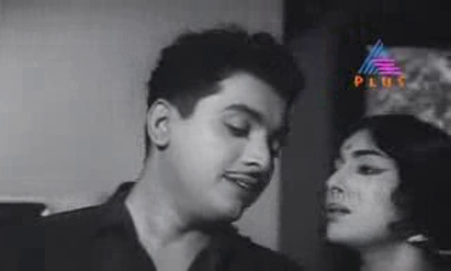 KP Ummer and Sarada in Archana (1966)