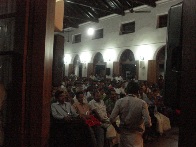 The Audience at the Prem Nazire Tribute Program, Kozhikode, 2012