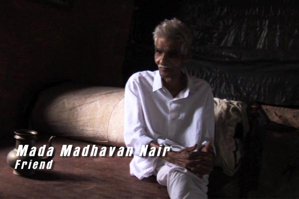 Oduvil Unnikrishnan's first makeup man