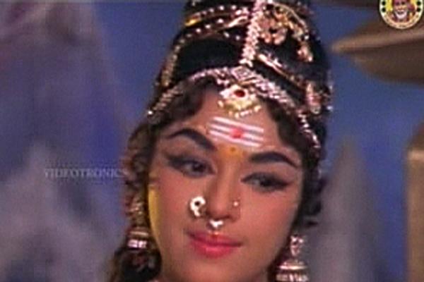 Padmini in Kumarasambhavam (1969)