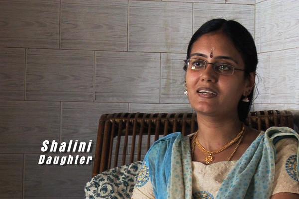 Shalini -  Oduvil Unnikrishnan's daughter