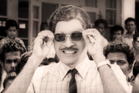 GK Pillai in Agnimrugam (1971)