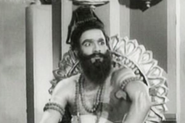 GK Pillai in Harischandra (1955)