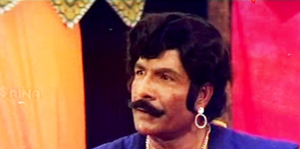 GK Pillai in Padayottam (1982)