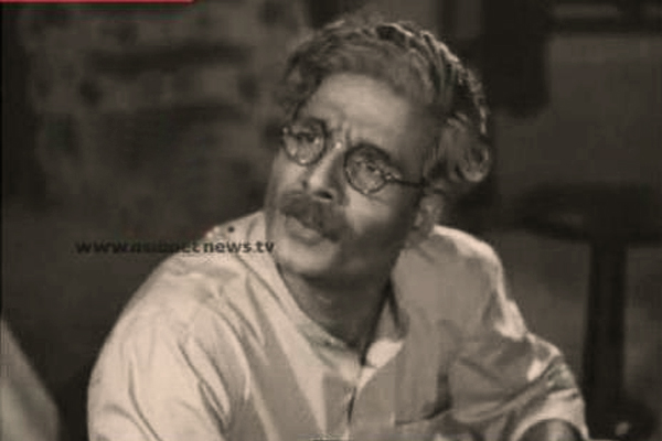 GK Pillai in Snehaseema (1954)