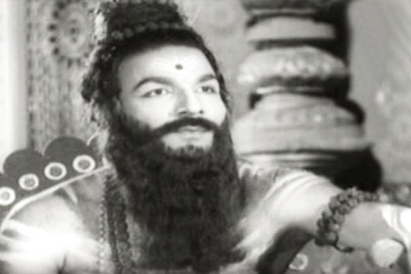 GK Pillai in Sri Rama Pattaabhishekam (1962)