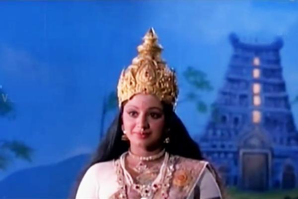 Srividya in Chottanikkara Amma