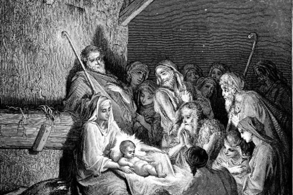 The Nativity by Gustav Dore