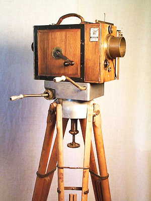 The Wood Debrie Parvo Movie Camera