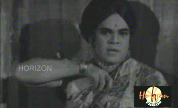 Adoor Bhasi in Taxi Car