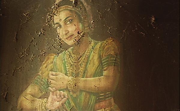 Nagavalli Painting from Manichithrathazhu