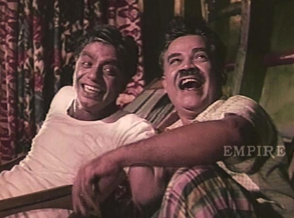 PJ Antony and Adoor Bhasi in Nadhi