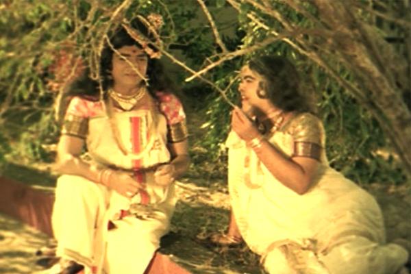 Prem Nazir and Adoor Bhasi in Kannappanunni