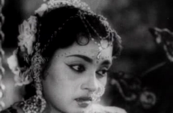 T D Kusalakumari in and as Seetha (1960)