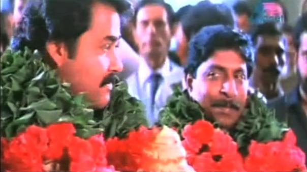 Mohanlal and Sreenivasan in Akkare-Akkare-Akkare(1990)
