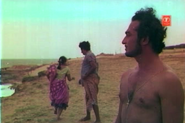 Frederic seizes opportunities by their necks - Kanyakumari (1974)