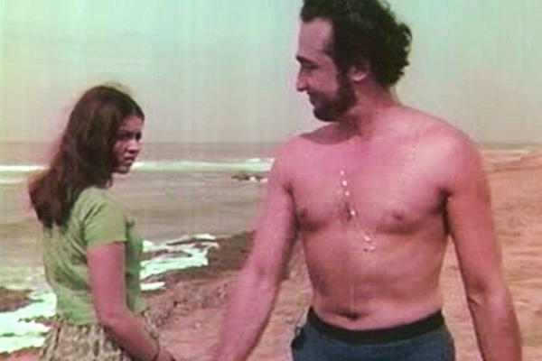 Frederic, the swimmer has an eye on Pravati - Kanyakumari (1974)