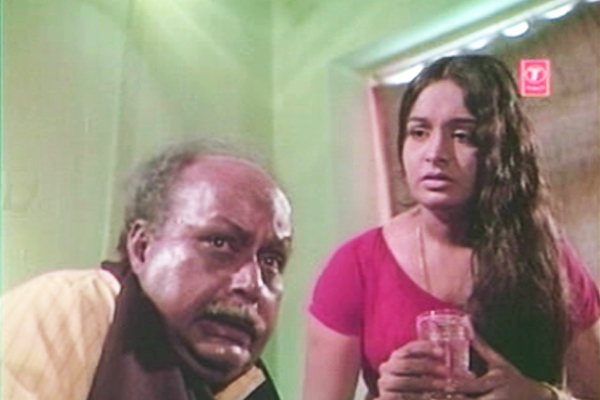 Somasundaram and Rajini  in Kanyakumar (1974)