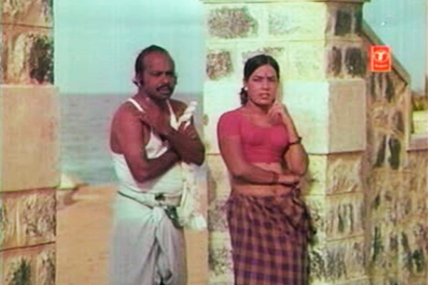 The Hussy and her partner Pimp in Kanyakumar (1974)