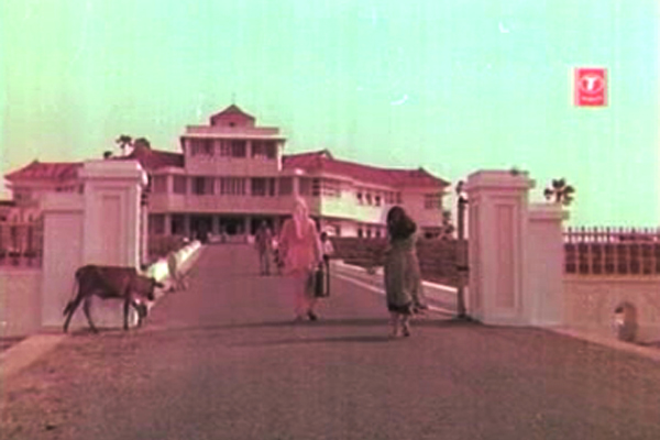 The Rest House that forms the hub of the movie - Kanyakumari (1974)