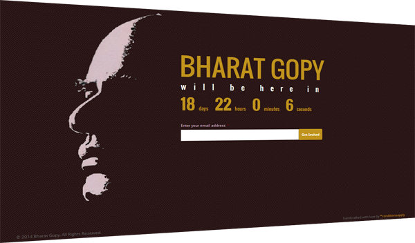 Bharat Gopy Website