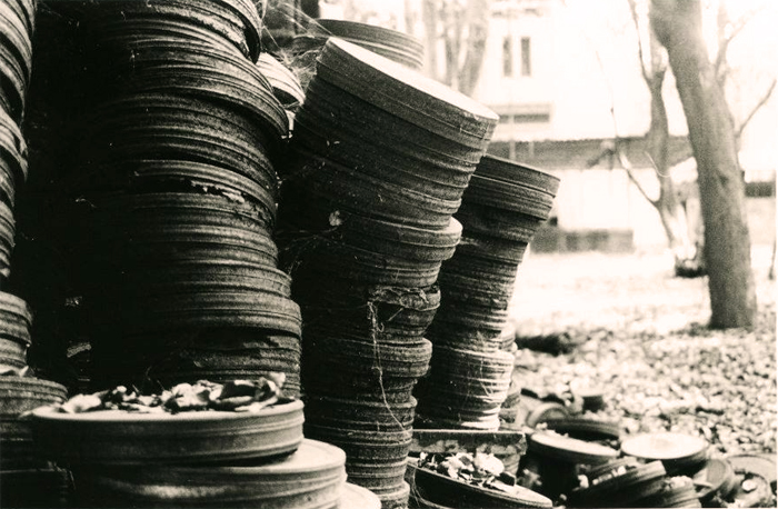 Abandoned Film Cans - Shivendra Singh Dungarpur